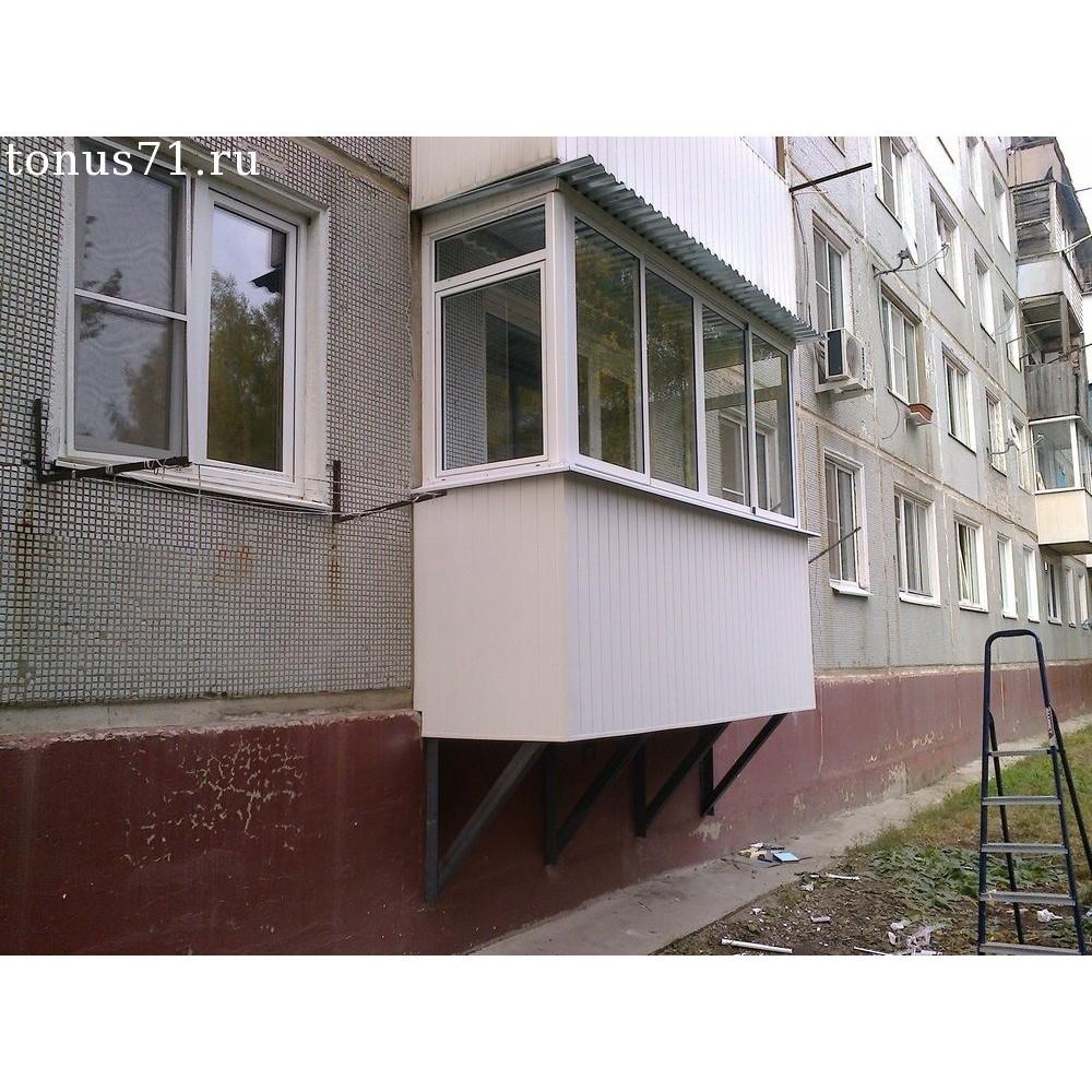 """Пристроить балкон и лоджию во владивостоке - """"теплый балкон""""."""
