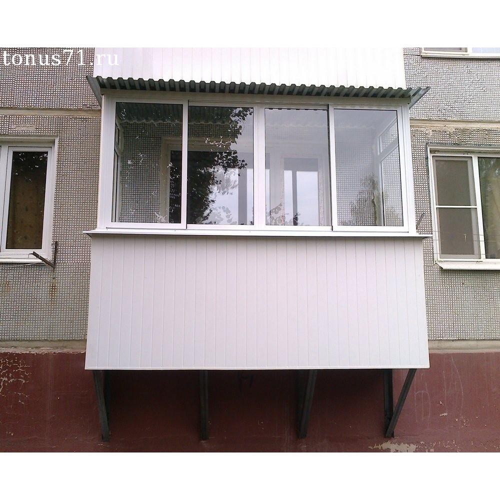 Балкон на первом этаже (подвесной) купить.