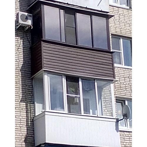 Балконы под ключ Новомосковск
