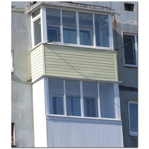 Расчет стоимости балкона Новомосковск