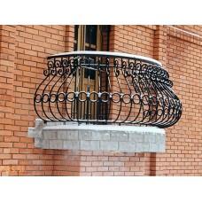 Кованый парапет для балкона