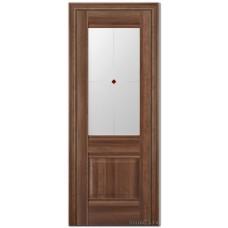 Экошпон дверь 2X (фьюзинг), цвет: орех сиена