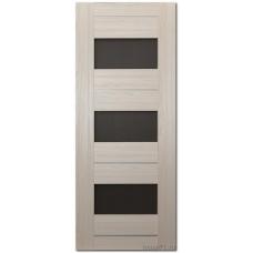 Экошпон дверь 41X (остекленная), цвет: эш вайт мелинга