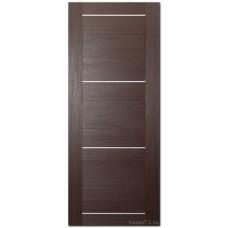 Экошпон дверь 42X (глухая), цвет: венге мелинга