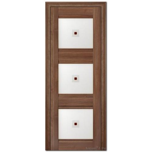 Экошпон дверь 4X (фьюзинг), цвет: орех сиена