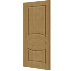 Экошпон дверь Гера (глухая), цвет: беленый дуб