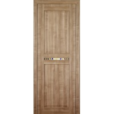 Ламинированная ПВХ дверь Аделина (глухая), цвет: зимняя вишня