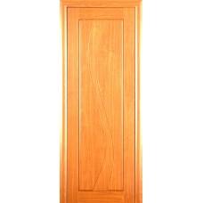 Ламинированная ПВХ дверь Камелия (глухая), цвет: миланский орех