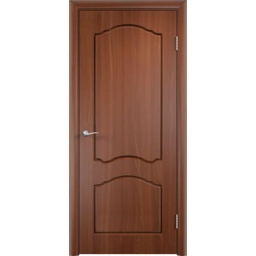 Ламинированная ПВХ дверь Альфа (глухая)