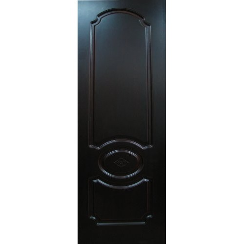 Шпонированная дверь Мицар» (глухая), цвет: темная вишня