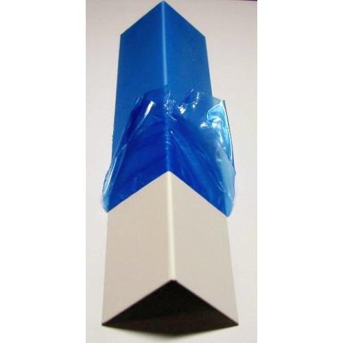 Уголок пластиковый белый (40мм*40мм*3м)